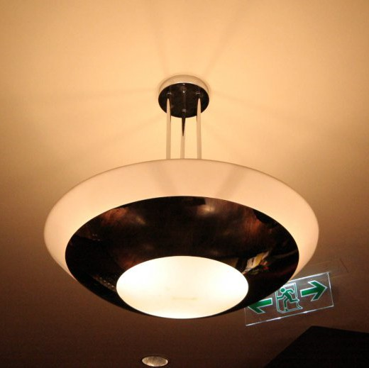 Ceiling lamp at Main Dining Hall