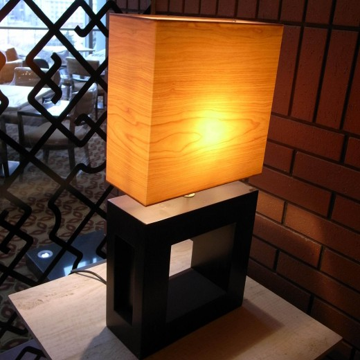 Table Lamp at Lounge Dining