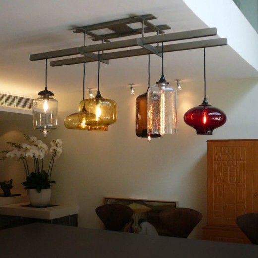 Pendant above Dining Table