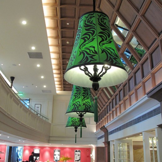Pendant at Double Height Dining Hall